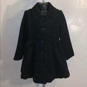 Beautiful Children's Place black overcoat